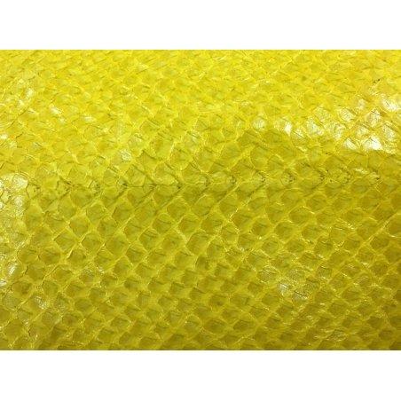 Peau de saumon jaune
