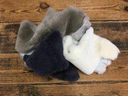 Chutes de mouton lainé divers