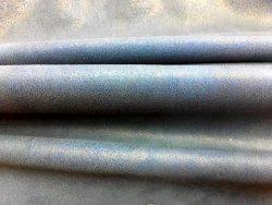 Agneau nubuck stretch bleu