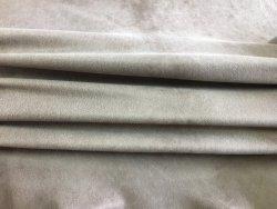 Peau de cuir de chèvre stretch - Nubuck ciré sable