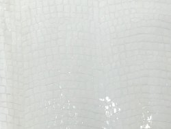 Vache grain croco blanc