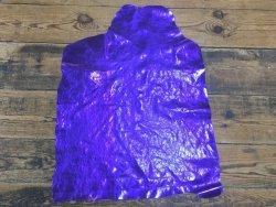Agneau métallisé violet