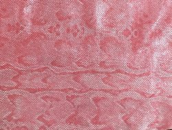 cuir fantaisie grain serpent rose cuirenstock