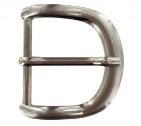 Boucle ceinture nickelé - 34mm
