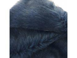 Cuir peau de lapin Cuir en Stock Bleu jean