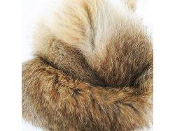 Cuir peau de lapin en poil Cuir en Stock Naturel