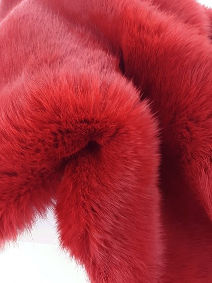 Lapin jumbo rouge