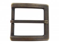 Boucle ceinture carré vieilli 40mm