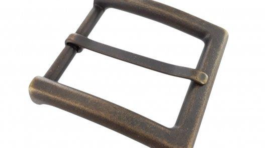 Royaume-Uni disponibilité ab347 5dc8d Boucle ceinture carré vieilli 40mm