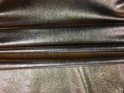 Peau de cuir d'agneau stretch métallisé cuivre