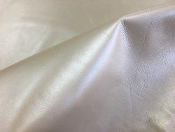 peau de cuir de chèvre nacré blanc maroquinerie cuir en stock