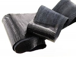 cuir de serpent peau exotique noir cuirenstock vente