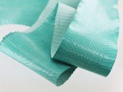 vraie peau de serpent travail du cuir bleu turquoise mint vente cuir en stock