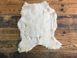 peau mouton laine champagne cuir en stock
