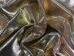 Peau de veau paillette doré or Cuir en Stock maroquinerie