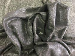 cuir pailleté gris argenté Cuir en Stock veau velours