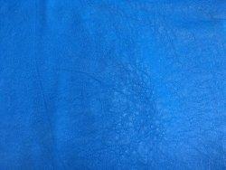 cuir bleu cyan peau agneau nappa vêtement Cuir en Stock
