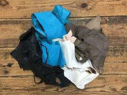 chutes de cuir de chèvre couleurs diverses cuir en stock