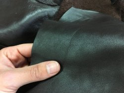 morceaux de cuir de vache brun maroquinerie ameublement Cuir en stock
