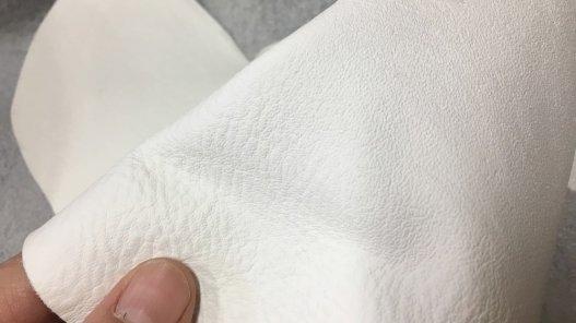 peau de cuir de vache blanc maroquinerie ameublement Cuirenstock