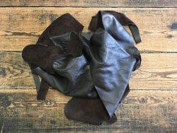 chutes de cuir vache brun marron maroquinerie ameublement cuir en stock