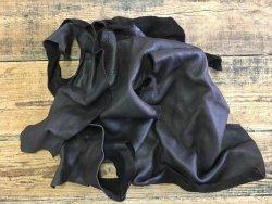 chutes de cuir de vache brun choco naturel maroquinerie ameublement cuir en stock