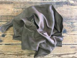 chutes de cuir de vache naturelle loutre maroquinerie ameublement cuir en stock