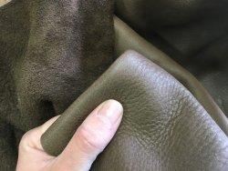 peau de cuir de vache naturelle loutre maroquinerie ameublement cuirenstock