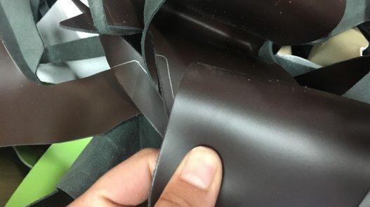 morceaux de cuir PU accessoire couleurs divers cuirenstock