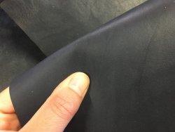 peau de cuir de vache naturel huilé bleu maroquinerie Cuirenstock