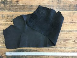 peau de pécari noir souple vêtement Cuirenstock