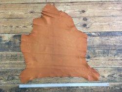 peau de cuir de cerf fauve maroquinerie cuirenstock