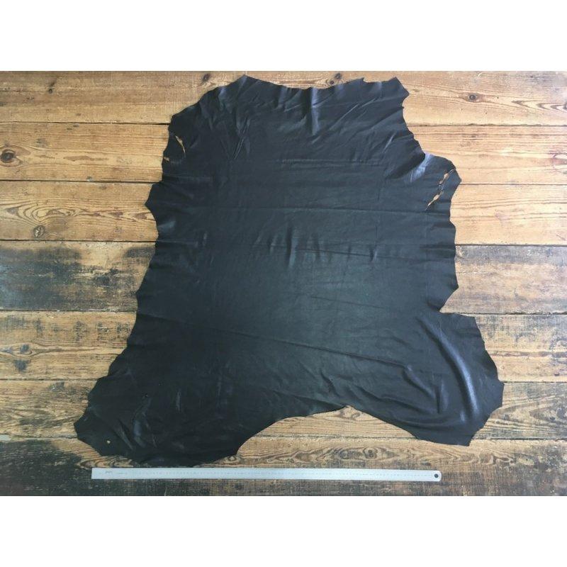 peau cuir cerf noir maroquinerie luxe cuir en stock