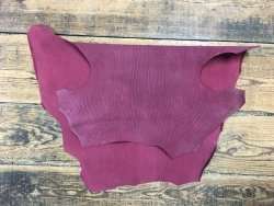 peau cuir requin nubuck fushia maroquinerie accessoire Cuir en Stock