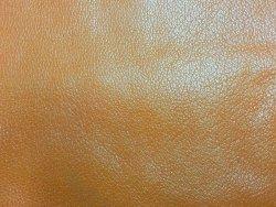 peau de cuir de buffle orange maroquinerie accessoire cuir en stock