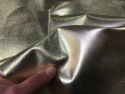 peau de cuir de chèvre métallisé or Cuirenstock