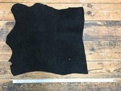 peau de velours noir petit prix maroquinerie cuir en stock