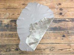 peau de cuir d'agneau nappa plongé satiné taupe vêtement accessoire