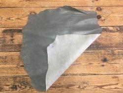 peau de cuir de chèvre gris maroquinerie accessoire reliure cuirenstock