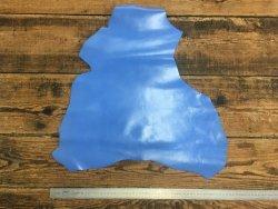 peau de cuir de chèvre bleu lavande maroquinerie accessoire reliure cuir en stock