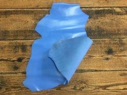 peau de cuir de chèvre bleu lavande satiné maroquinerie accessoire reliure cuirenstock