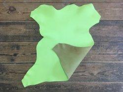 peau de cuir de chèvre vert anis maroquinerie accessoire qualité cuirenstock