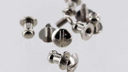 lot boutons de cartouchière montage facile accessoire maroquinerie professionnelle cuirenstock