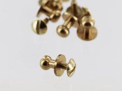 lot boutons de cartouchière à viser accessoire maroquinerie professionnel cuirenstock