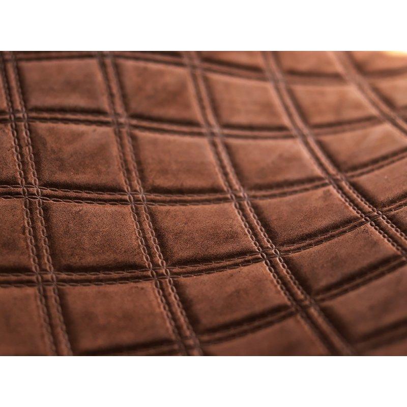 cuir fantaisie de luxe brun cuirenstock