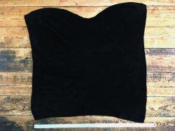 peau de veau velours noir maroquinerie ameublement accessoire cuir en stock
