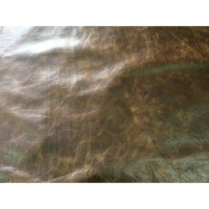 peau de cuir de vache antique brun vieilli maroquinerie ameublement cuir en stock