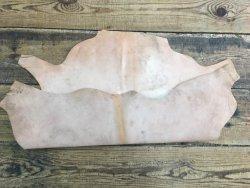 peau de cuir de buffle naturel végétal maroquinerie gravure repoussage cuirenstock