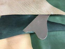 chutes de cuir de vache épais divers couleurs accessoire cuir en stock