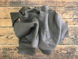 chutes de cuir de vache couleur bronze brun maroquinerie ameublement accessoire cuir en stock